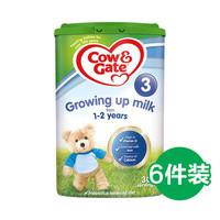 Cow&Gate 英国牛栏 婴幼儿奶粉 3段 800g*6罐