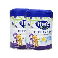 Hero Baby 2罐装 荷兰  婴幼儿奶粉白金版 原装进口hero baby 3段 700g/罐