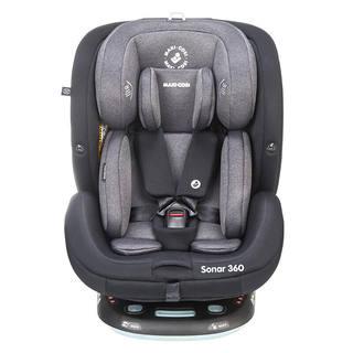 maxicosi迈可适儿童安全座椅汽车用0-7岁 0-12岁 360°可旋转ISOFIX接口五点式 Sonar【0-12岁+360°旋转】 曼哈顿黑