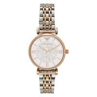 GIORGIO ARMANI 乔治·阿玛尼 AR1926 女士不锈钢人造钻石手表