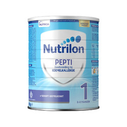 Nutrilon 牛栏 pepti 深度全水解抗蛋白过敏低敏奶粉 1段 800g