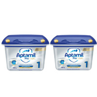 Aptamil 爱他美 白金版婴儿配方奶粉 1段(0-6个月)800gx2罐