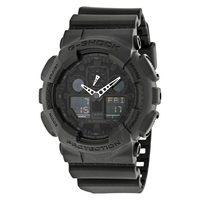 超值黑五、银联爆品日:CASIO 卡西欧 G-SHOCK GA100-1A1CR 男款 双显腕表