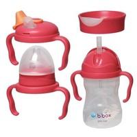 B.Box 四合一婴幼儿奶瓶水杯增值包(树莓色)1套