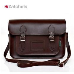 Zatchels 男士肩背式剑桥包 13寸 £80.89 包邮包税(约724元)