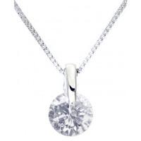 GLADD 天然钻石0.3ct 铂金项链