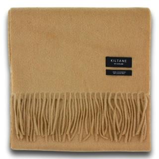 Kiltane 纯驼色羊绒围巾