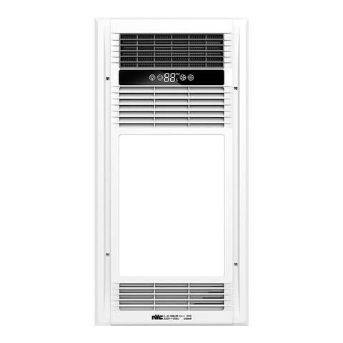 雷士照明(NVC)智能多功能智能风暖浴霸集成吊顶暖风模块嵌入式风暖浴霸浴室卫生间暖风机换气取暖照明模块五合一