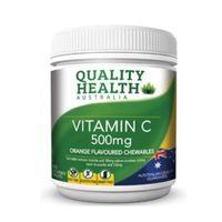 凑单品:Quality Health 维生素C片剂 500mg 200粒
