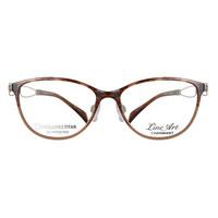 夏蒙_XL2121 DB_板材镜框+线钛镜腿_女士玳瑁色全框 眼镜架