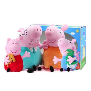 小猪佩奇一家四口大号礼盒