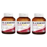 超值黑五:Blackmores 新款辅酶Q10 保护心血管 150mg 30粒 *3瓶