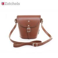Zatchels 英伦手工牛皮水桶包