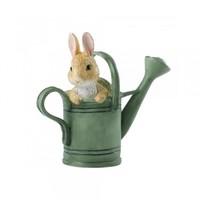 Beatrix Potter 波特小姐 待在花洒里的彼得兔迷你雕像
