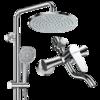 FAENZA 法恩莎 F3M9801SC 全铜龙头淋浴花洒套装  369元包邮(多重优惠)