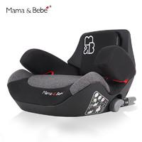 mamabebe车载儿童安全座椅增高垫3-12岁带isofix温斯顿黑包邮