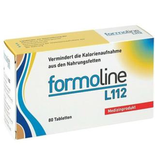 Formoline L112 植物膳食纤维纤体片 80粒