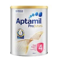 Aptamil 澳洲爱他美 白金版 婴幼儿奶粉 4段 900g 3罐装