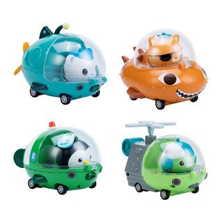 OCTONAUTS 海底小纵队 回力惯性小汽车 多款可选