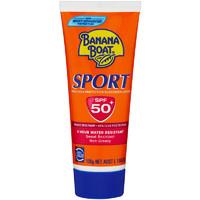 凑单品、银联专享:Banana Boat 香蕉船 运动防晒乳霜 SPF 50+ 100g