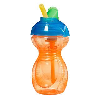 MunchKin 麦肯齐 防摔防漏儿童吸管杯 266ml (橙色)