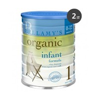 Bellamy's贝拉米1段有机奶粉 900g 2罐装