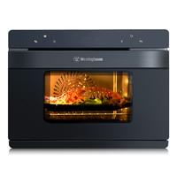 美国西屋42升蒸汽烤箱家用台式嵌入式蒸烤箱蒸箱二合一蒸烤一体机