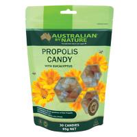 Australian By Nature 麦卢卡蜂蜜蜂胶润喉糖 30粒