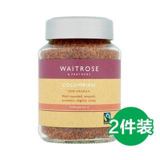 waitrose 维特罗斯 哥伦比亚冻干速溶咖啡 100g*2瓶