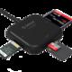 Orico/奥睿科 USB3.0高速多功能读卡器SD/TF/MS/CF多合一万能手机OTG相机读卡