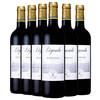 【也买酒】法国拉菲传奇波尔多AOC干红葡萄酒 原瓶进口红酒 750mlx6 整箱装