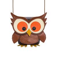 Zatchels 动物系列 霍特猫头鹰水桶包