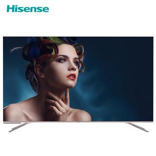 海信(Hisense)官方旗舰店 HZ55E60D 55英寸 AI声控 4K超高清 全面屏 人工智能 液晶电视 平板电视