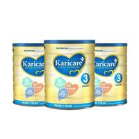Karicare 可瑞康 3段婴幼儿配方牛奶粉 900g 3罐