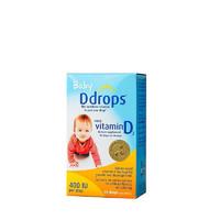Ddrops 加拿大 嬰兒維生素D3補鈣滴劑 90滴