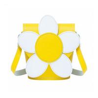 Zatchels 雏菊花朵系列 拼色花朵水桶包
