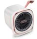 摩飞电器(Morphyrichards)取暖器迷你暖风机 家用办公桌浴室电暖加湿器便携冷暖加湿三合一椰奶白 155元包邮(需用券)