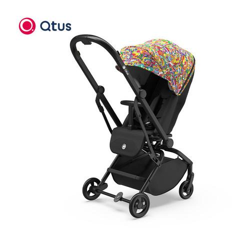 Quintus昆塔斯婴儿推车Q9Plus婴儿推车360度旋转双向推车高景观伞车 小怪兽配色