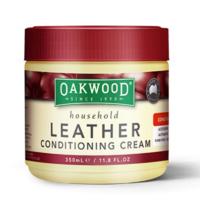 Oakwood 澳科天然皮革清洁膏 保养油 350ml