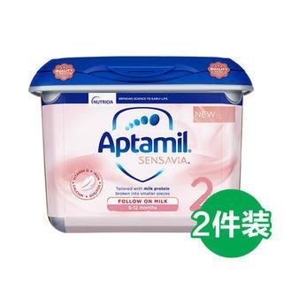 Aptamil 爱他美 Sensavia低敏粉金版 婴幼儿奶粉 2段 800g*2罐