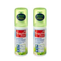 dm S-quito free 儿童防蚊虫喷雾驱蚊水液100ml 2瓶装