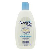 银联专享:Aveeno 艾维诺 天然燕麦婴儿专用身体洗发水两用 236ml
