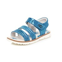 HUSH PUPPIES蓝色魔术贴小童时装凉鞋
