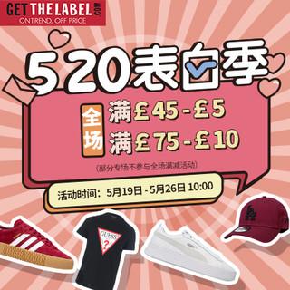海淘活动 : Get The Label中文官网 520表白季 精选鞋服促销