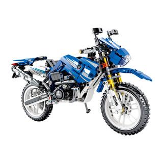 移动专享 : SEMBO BLOCK 森宝积木 701702 亚玛哈回力摩托车 799颗粒