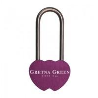 Gretna Green 格林小镇紫色同心锁