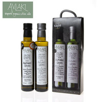 AVLAKI 原装进口有机特级初榨橄榄油 250ml*2瓶