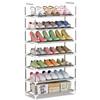 索尔诺 xj_A07 7层简易鞋架  银灰色 19.9元包邮