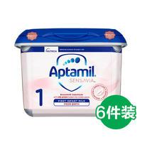 Aptamil 爱他美 Sensavia低敏粉金版 婴幼儿奶粉 1段 800g*6罐