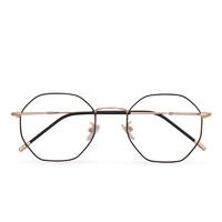 潮库 多边形防辐射近视眼镜jiajia 2103+1.61轻薄非球面镜片(0-800度)